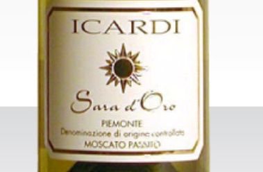 伊卡迪麝香甜白Icardi Sara d'Oro Piemonte Moscato Passito