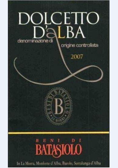 巴塔希多姿桃干红Beni di Batasiolo Dolcetto d'Alba