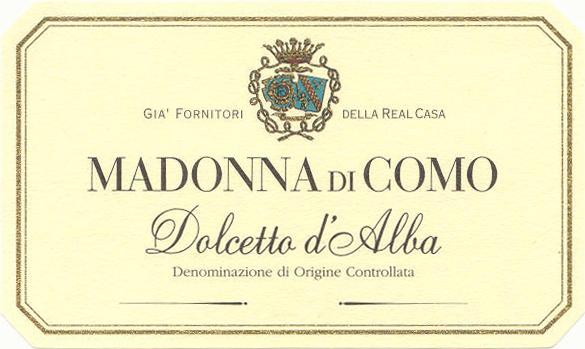 巴罗洛侯爵麦当娜多姿桃干红Marchesi di Barolo Madonna di Como Dolcetto d'Alba