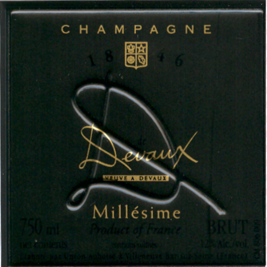 德沃D系列年份干型香槟Veuve A. Devaux La Collection D Millesime