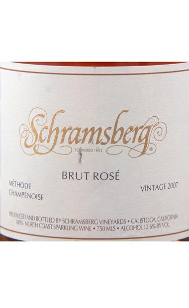 世酿伯格酒庄桃红起泡SCHRAMSBERG Rose