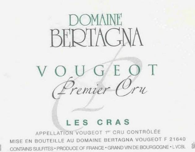贝塔娜格拉斯干红Domaine Bertagna Les Cras Rouge