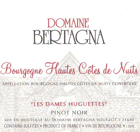 贝塔娜勃艮第上夜丘干红Domaine Bertagna Bourgogne Hautes Cotes de Nuits Rouge