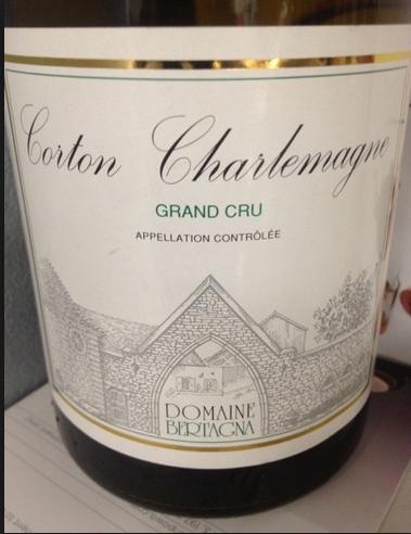 贝塔娜顶级查理曼干白Domaine Bertagna Corton-Charlemagne Grand Cru