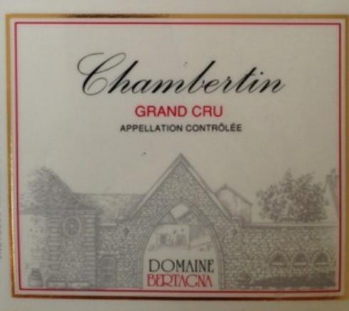 贝塔娜顶级香贝丹干红Domaine Bertagna Chambertin Grand Cru