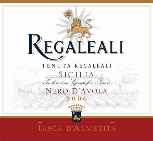 塔斯卡雷加利黑珍珠干红TASCA  D'ALMERITA Regaleali