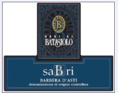 巴塔希赛比雷干红Beni di Batasiolo Sabri