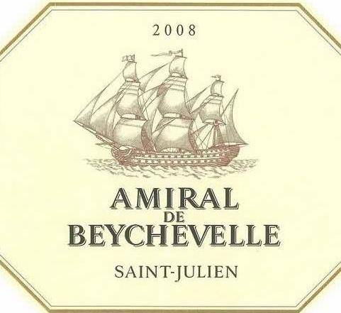 龙船海军上将干红Amiral de Beychevelle