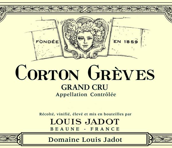 路易亚都科通登格雷芙园干红Louis Jadot Corton Greves