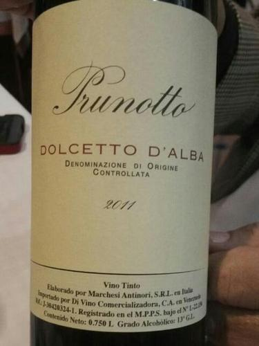 普鲁诺托多姿桃干红Prunotto Dolcetto d'Alba