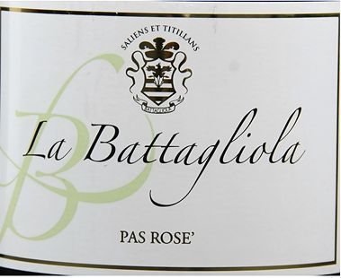 拉芭达悠拉蓝布鲁斯科桃红起泡La Battagliola Lambrusco Grasparossa