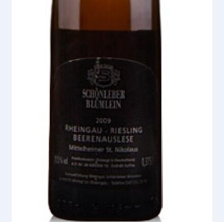 诗蓝柏雷司令逐粒精选甜白Rheingau Riesling Beerenauslese Auslese Mittelheimer St.Nikolaus