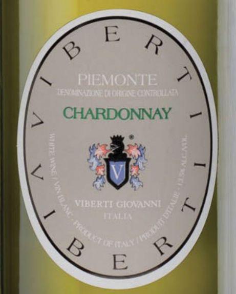 维博帝霞多丽干白Viberti Giovanni Piemonte Chardonnay