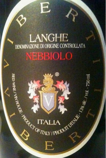 维博帝酒庄内比奥罗干红Viberti Giovanni Langhe Nebbiolo