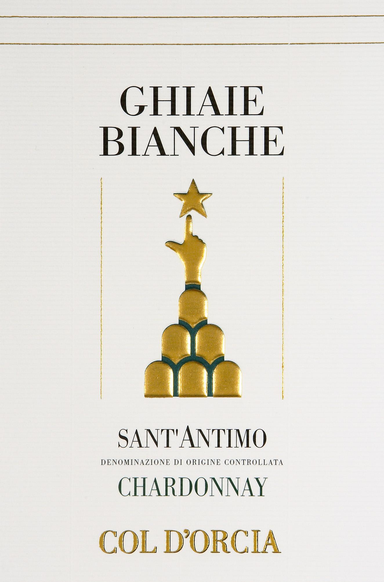 科尔多奇亚圣安蒂莫白砾石霞多丽干白Col d'Orcia Ghiaie Bianche Sant'Antimo Chardonnay