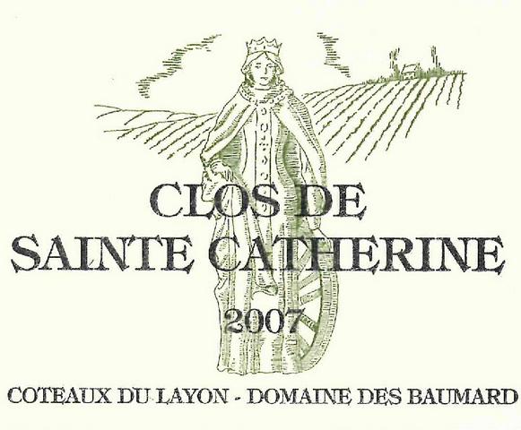 博马尔凯瑟琳园甜白Domaine des Baumard Clos de Ste Catherine