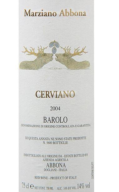 阿博纳酒庄赛维诺巴罗洛干红Marziano Abbona Cerviano Barolo