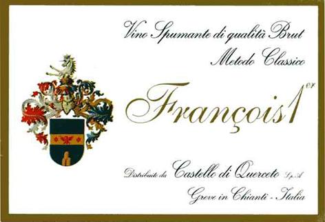 库尔切托弗朗索卡经典起泡Castello di Querceto Francois I Spumante Metodo Classico Brut