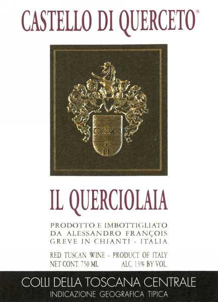 库尔切托奎尔乔拉干红Castello di Querceto Il Querciolaia