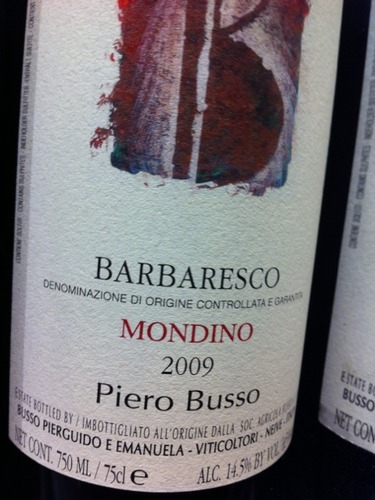 皮欧布索巴巴莱斯科干红Piero Busso Barbaresco Mondino