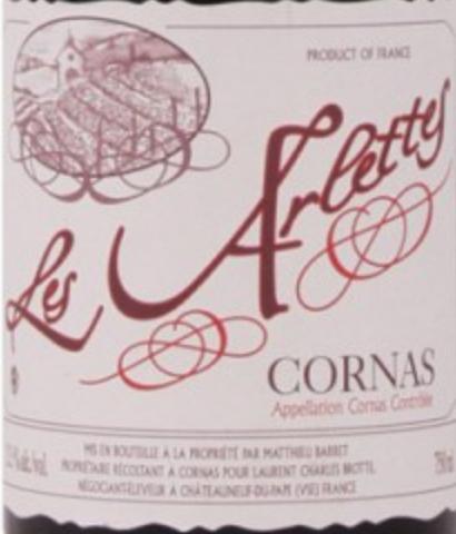布诺特科尔纳阿尔特斯干红Brotte Cornas Les Arlettes