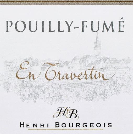 亨利博卢瓦石灰华干白Henri Bourgeois En Travertin