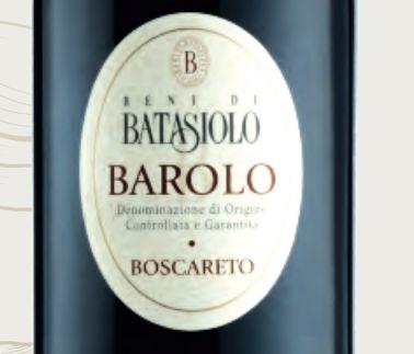 巴塔希巴罗洛波斯凯尔特干红Beni di Batasiolo Barolo Boscareto