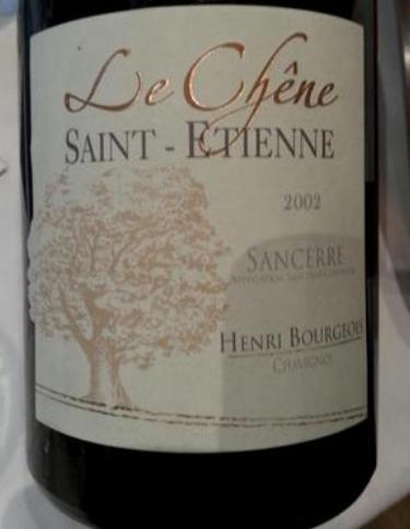 亨利博卢瓦艾蒂安橡木干红Henri Bourgeois Le Chene Saint-Etienne