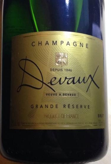 德沃特級珍藏干型香檳Veuve A. Devaux Grande Reserve Brut