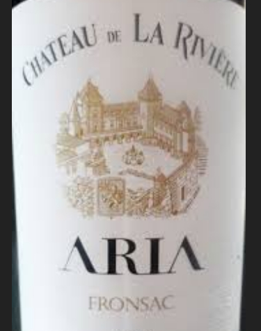 大河阿里亚干红Aria du Chateau de La Riviere