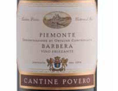 普维若皮埃蒙特巴贝拉干红Cantine Povero Piemonte Barbera