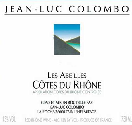 哥伦布酒园干红JEAN-LUC COLOMBO LES ABEILLES COTES DU RHONE