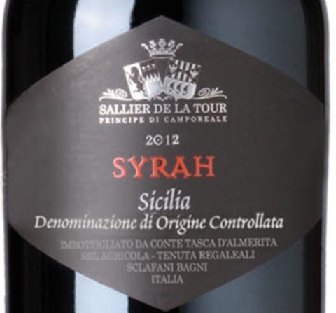 塔斯卡突围拉图西拉干红Tasca d'Almerita Sallier de La Tour SYRZH