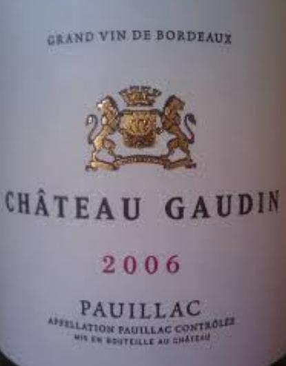 高登城堡干红Chateau Gaudin
