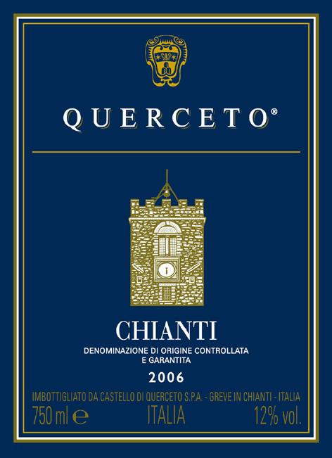 库尔切托基安蒂干红Querceto Chianti