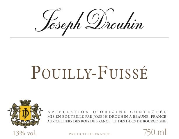 约瑟夫杜鲁安普伊-富赛干白Joseph Drouhin Pouilly Fuissé