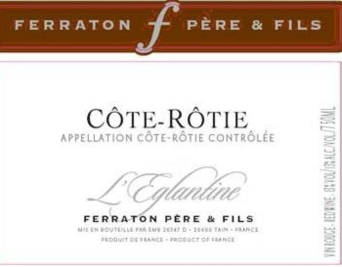 蔷薇罗蒂干红L'Eglantine Côte Rôtie