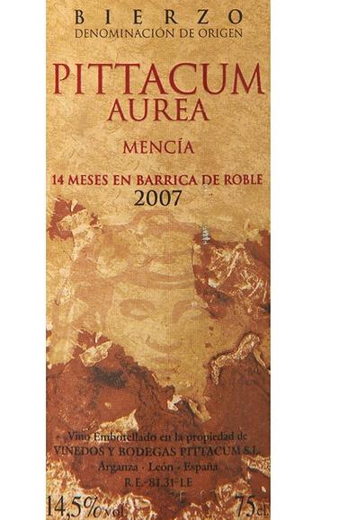 皮塔昆奥瑞尔干红Bodegas Pittacum Aurea Mencia