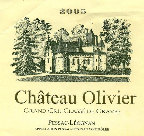 奥莉薇庄园干白Chateau Olivier Blanc