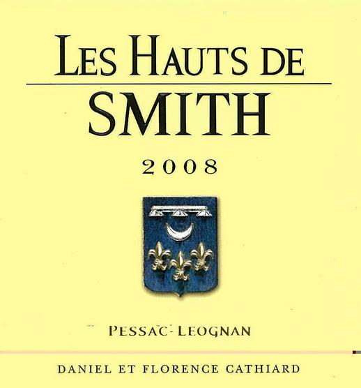 史密斯拉菲特酒庄副牌干白Chateau Smith Haut Lafitte Les Hauts de Smith Blanc