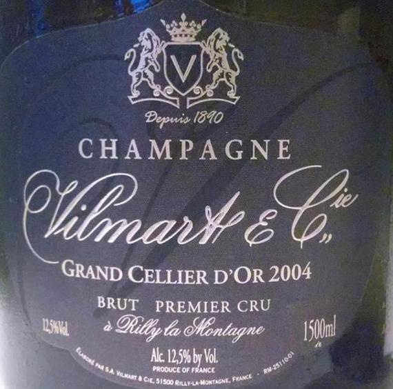威尔马特金塞利耶干型香槟Vilmart Grand Cellier d'Or Premier Cru Brut