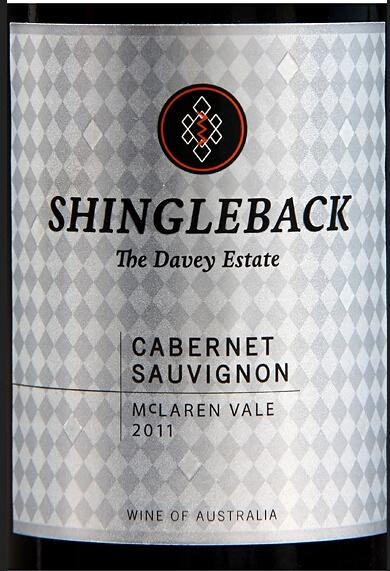 圣勒戴维酒园赤霞珠干红Shingleback Davey Estate Cabernet Sauvignon