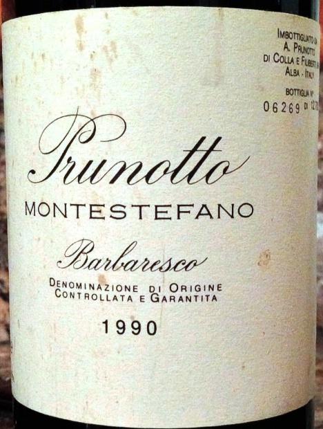 普鲁诺托蒙特斯特梵巴巴莱斯科干红Prunotto Alfredo Montestefano