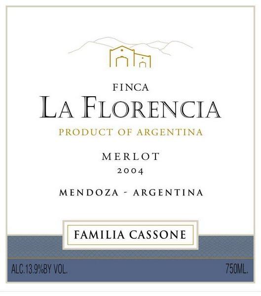 佛罗伦梅洛干红FincaLa F lorencia Merlot