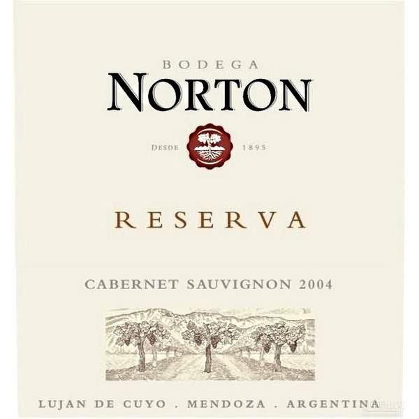 诺顿庄园特酿赤霞珠干红Bodega Norton Reserva Cabernet Sauvignon