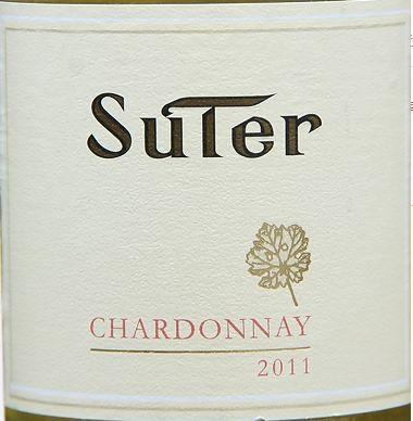 苏特庄园霞多丽干白Suter Chardonnay