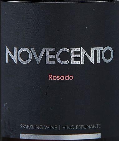 但丁德维农酒窖诺威森托粉红起泡Novecento Rosado Sparkling