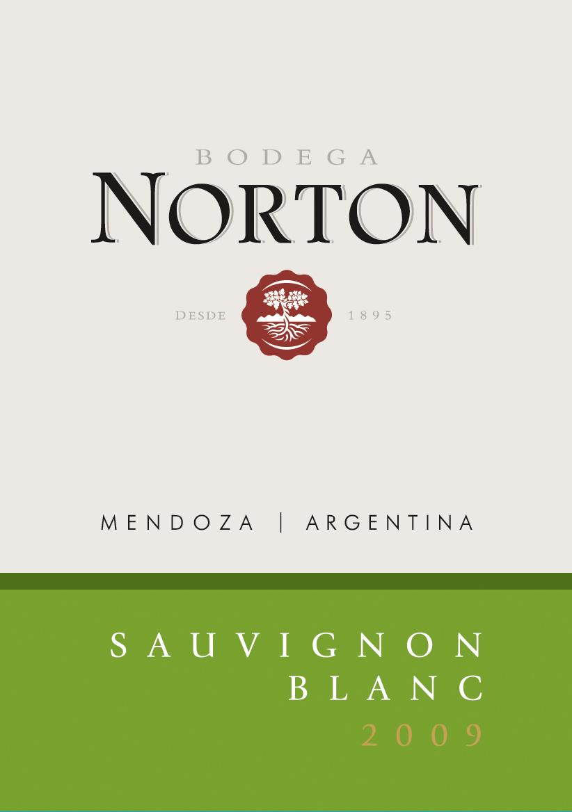 诺顿庄园长相思干白Bodega Norton Sauvignon Blanc