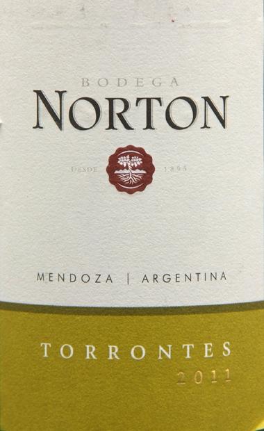 诺顿庄园特浓情干白Bodega Norton Torrontes