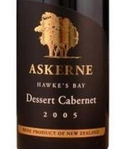阿克尼赤霞珠甜红Askerne Estate Cabernet Dessert